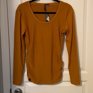 Tops - Deep Mustard Long Sleeve